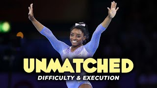 The HARDEST SKILLS performed by SIMONE BILES