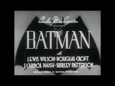 1943 Batman Serial Eddie Parker Scene