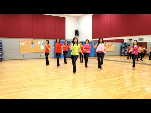 Havana Ooh-Na-Na - Line Dance (Dance & Teach In English & 中文)