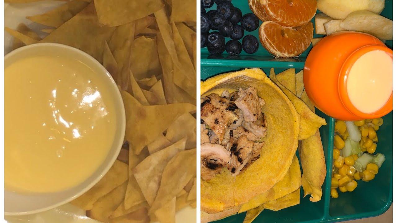 طريقة عمل التورتيلا شيبس أو الدوريتوس مع صوص الجبنة تنفع للانش بوكس أو سناك Tortilla Chips Youtube