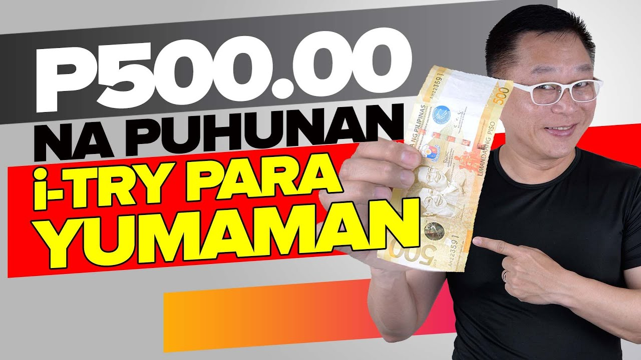 P500 Murang Puhunan! Gawin para Yumaman (7 Patok Online Business)