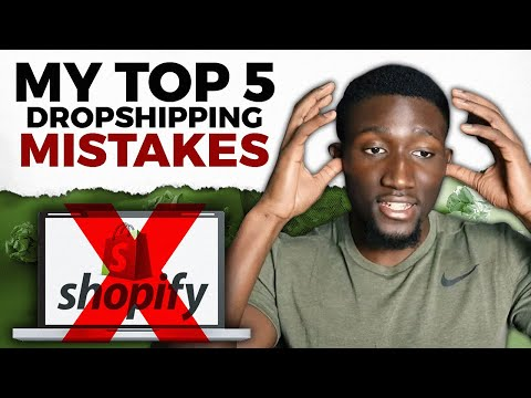 My Top 5 Dropshipping Mistakes | Shopify Dropshipping For Beginners thumbnail