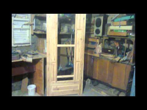 Межкомнатная дверь фрезами для мебельных фасадов