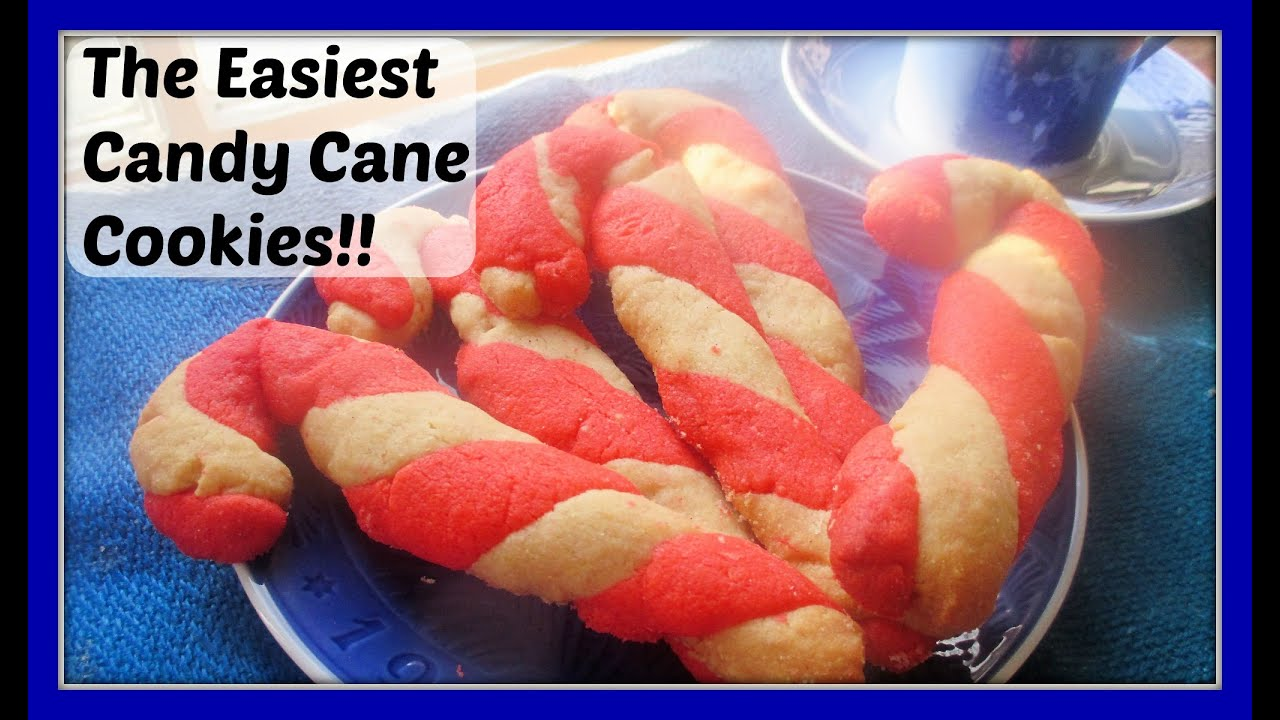 How To Make Super Easy Homemade Candy Cane Cookies Jule Stok Smakage