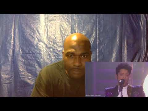 Bruno Mars Tributo To Prince. Grammys2017-REACTION
