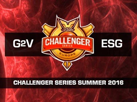 G2 Vodafone vs Euronics Gaming - Día 2 - Challenger Series EU Summer 2016 - Español