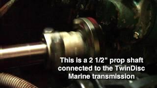 Detroit Diesel 6-71 startup on Grand Voyageur Yacht