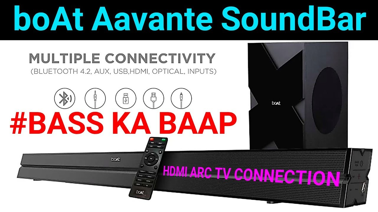 Soundbar up 2019 how to hdmi hook with ✔️ Can I