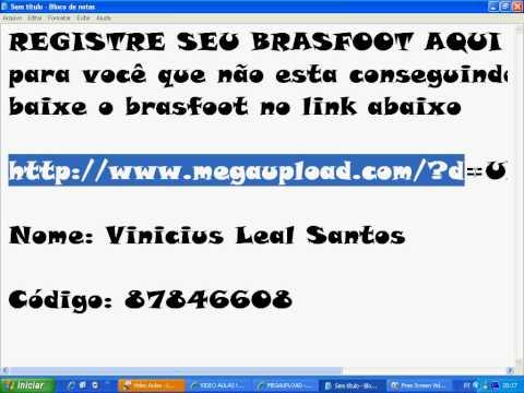 JA BAIXAR REGISTRADO 2010 BRASFOOT