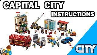 LEGO INSTRUCTIONS - Capital City - CITY - LEGO Set 60200