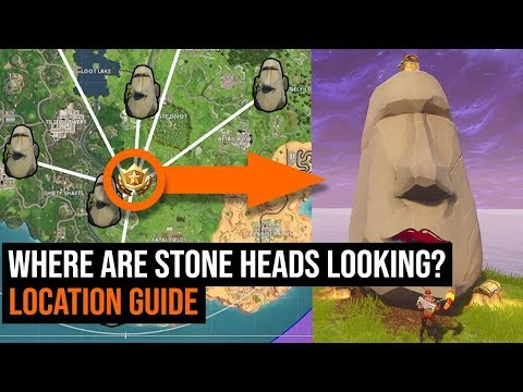 Search Where The Stone Heads Are Looking Location Guide - Week 6 Challenges