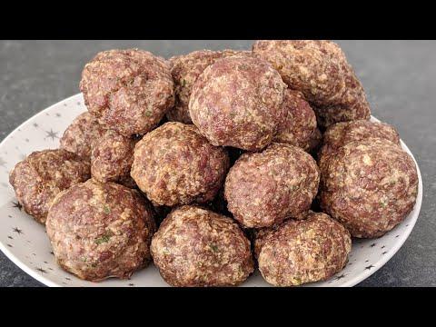 boulettes-de-viande-/-recette-rapide-/-recette-au-four