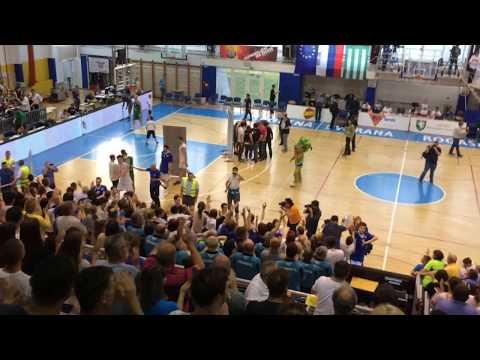 KK Rogaška 82:72 KK Union Olimpija (zaključek tekme, 21. 5. 2017)