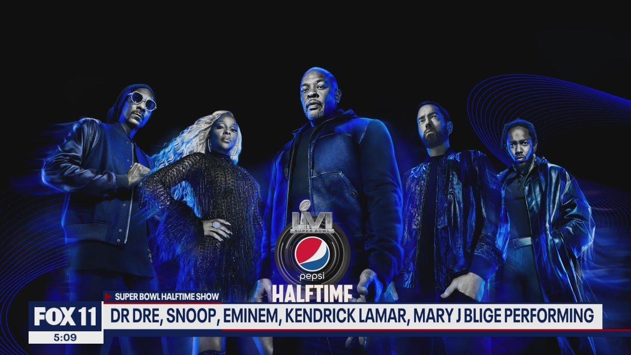 2022 Super Bowl halftime show will feature Kendrick Lamar, Dr. Dre ...