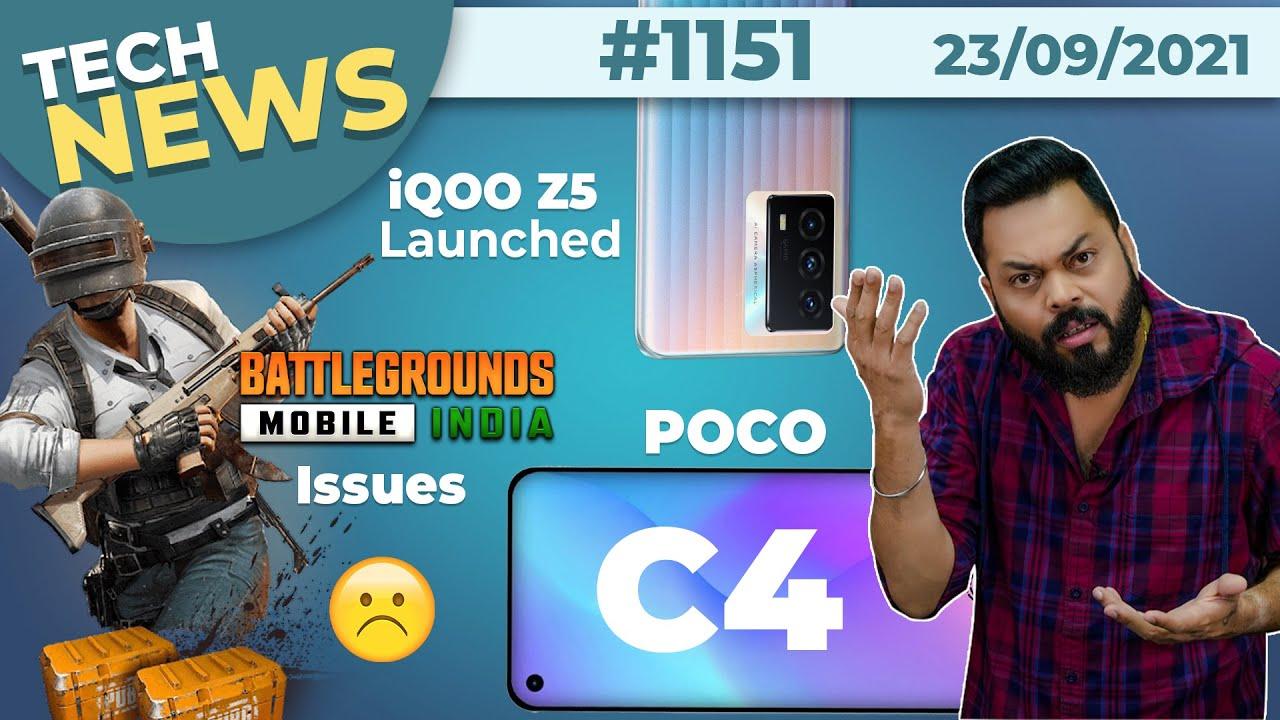 POCO C4 India Launch,Xiaomi👀, BGMI Big Issue, iQOO Z5 Price, Surface Duo 2,Galaxy S22 Ultra-#TTN1151