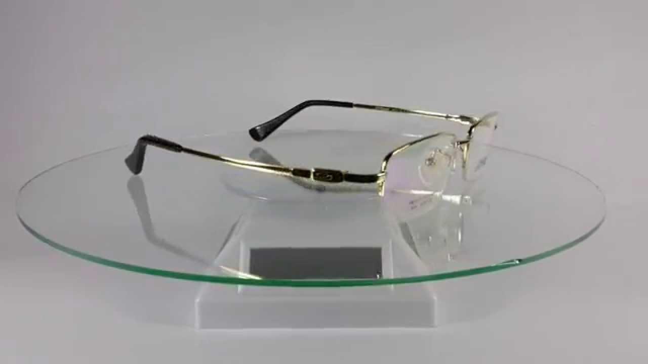 st dupont d8105 titex ii light gold eyeglasses