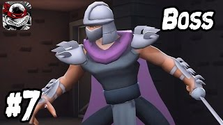 TMNT Legends GAUNTLET Part 7 | iPhone Gameplay - Shredder Classic Boss