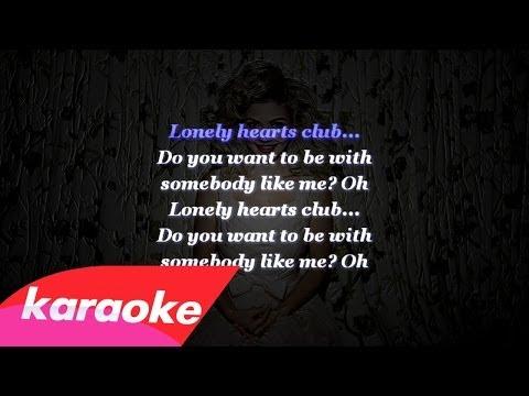 Marina and the Diamonds - Lonely Hearts Club (Instrumental) with Lyrics