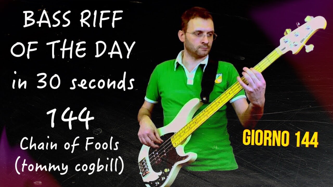 Bass Cover Chain Of Fools Bassline Tommy Cogbill Bass -9171