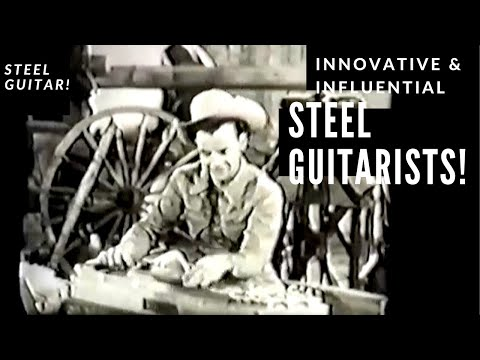 Steel Guitar Players - Western Swing & Country Non-Pedal Steel Guitarists (original video)