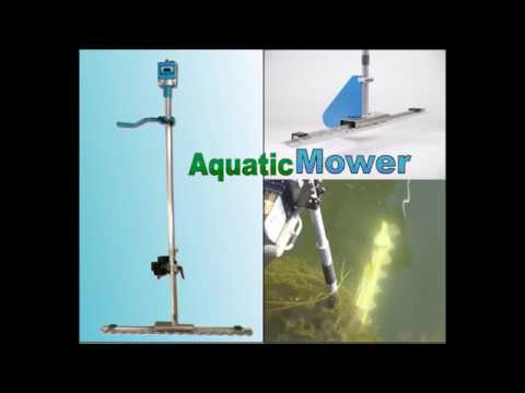 Aquatic Mower - Boat Mounted Lake Weed Cutter Seaweed Cutting Machine