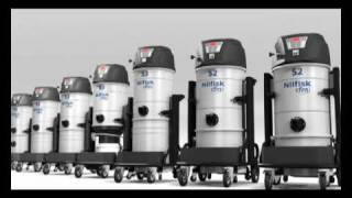 New Nilfisk-CFM S2 and S3 singlephase industrial vacuums