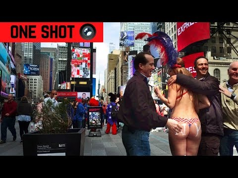 This Place is WILD | OneShot NYC Time square
