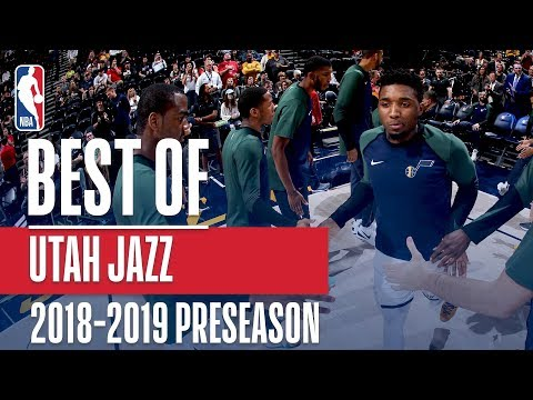 Best Of Utah Jazz | 2018 NBA Preseason