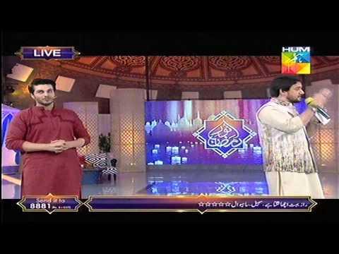 Farhan Ali Waris Reciting Naat at Noor e Ramazan HUM TV 02 July 2015