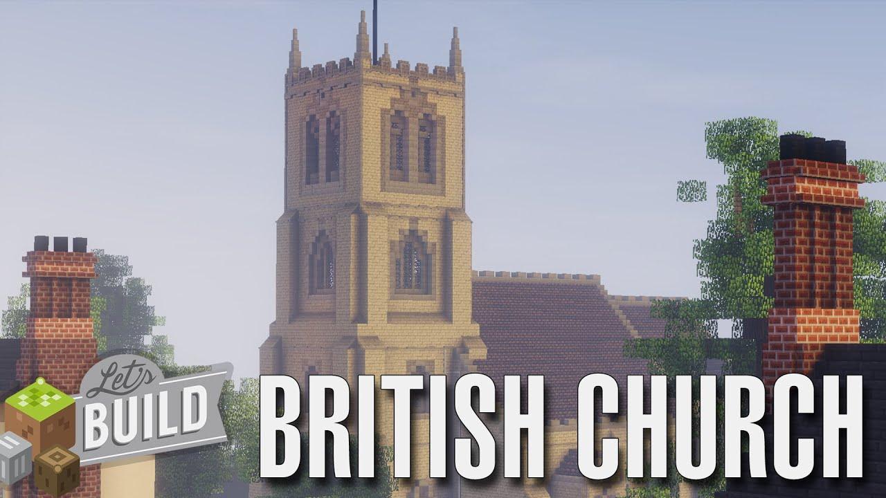 Minecraft Build Village Church