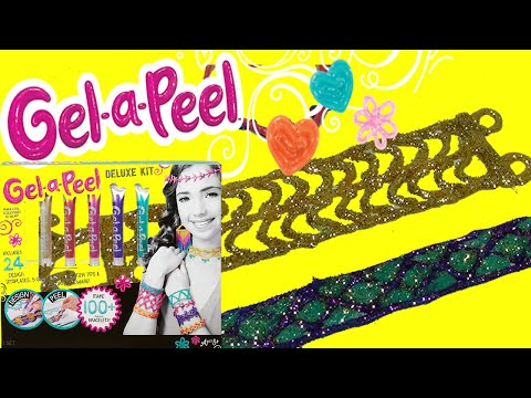 NEW Gel-a-Peel  Sparkle GEL PENS With GLITTER BLING Arts And Craft Jewelry