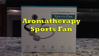 Aromatherapy Sports Fan  Review