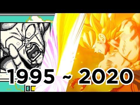 Evolution Of Angry KAMEHAMEHA; 21 Games (1995 To 2020)