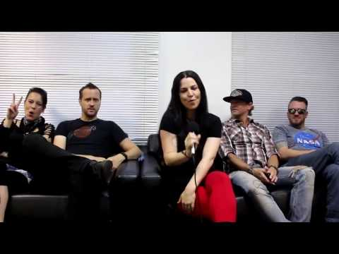 Evanescence interview with Portal PopNow