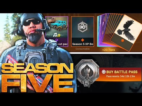 Modern Warfare The Full Season 5 Battle Pass Youtube