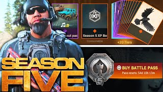 Modern Warfare: The FULL SEASON 5 BATTLE PASS!
