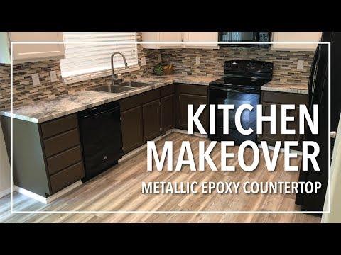 Brandon's Brand New Epoxy Countertops | Kitchen Transformation! (Part 1)