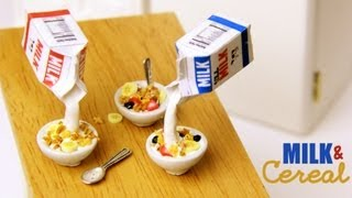 Milk & Cereal - Clay Breakfast Tutorial Thumbnail