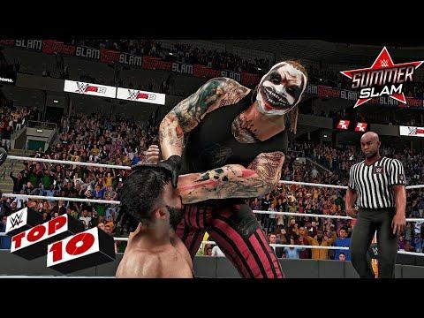 WWE 2K19 - Summerslam 2019 Top 10 Moments!