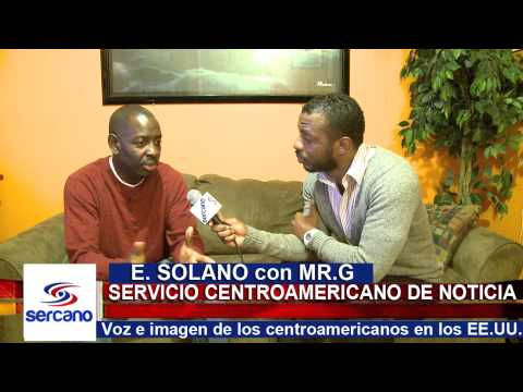 Eduardo Solano interviews Mr.G for Sercano News