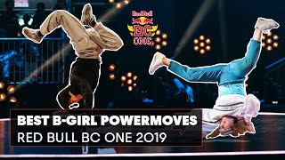 Best B-Girl Powermoves | Red Bull BC One Compilation 2019