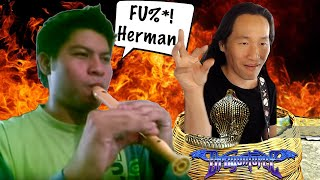 DragonForce Reaction: Insane Flute Cover of Through the Fire and Flames - Herman Li Reacts on Twitch