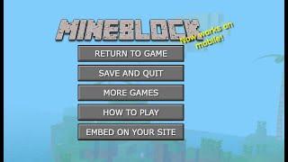 Jugamos a MineBlock, un juego de Minecraft || Mineblock Gameplay