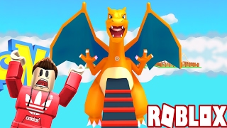 ESCAPE THE POKEMON OBBY! (Roblox Adventures)