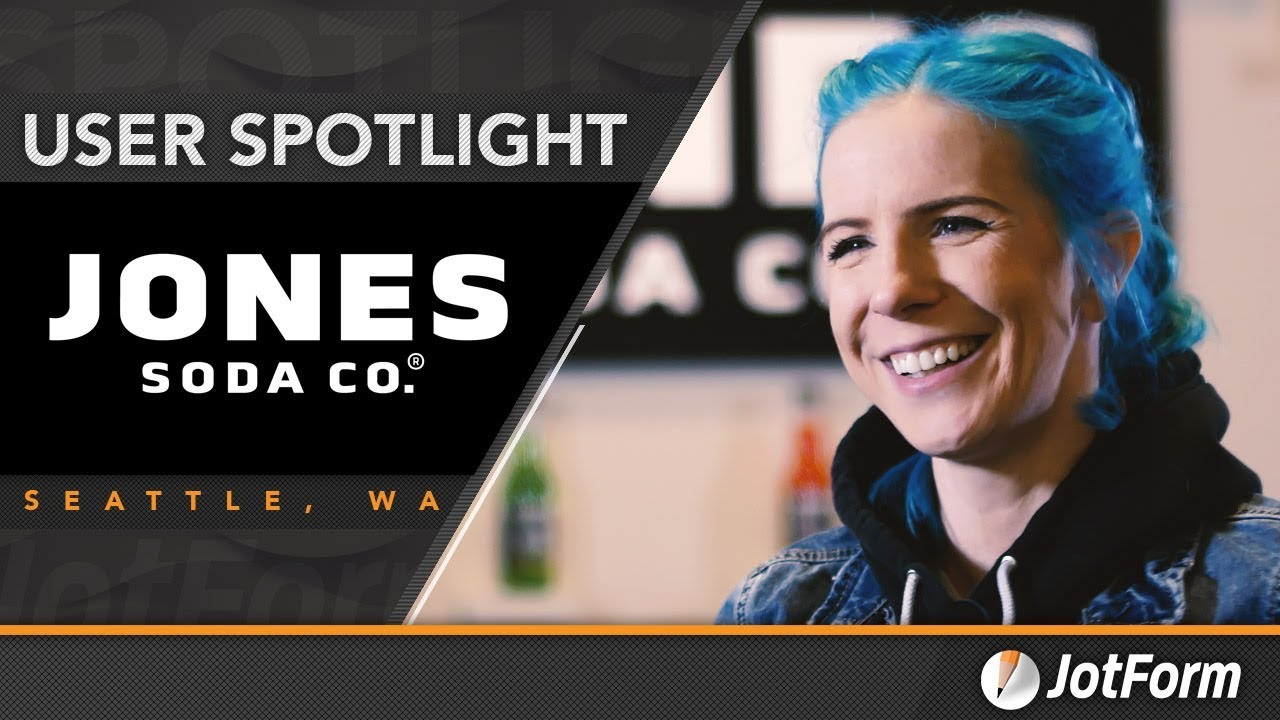 JotForm User Spotlight: Jones Soda uses JotForm to connect with customers