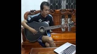 Lệ rơi 2 (guitar cover )