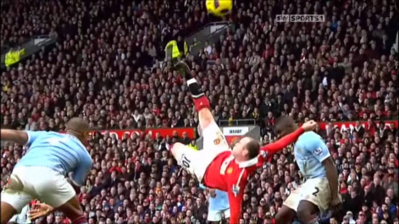 Rooney VS Manchester City - 2011 - Slow Motion [[1080p ...