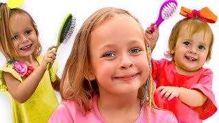 Three little sisters + More Maya and Mary Kids Songs & Nursery Rhymes