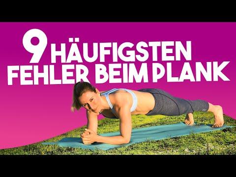 9 Häufigsten Fehler Beim Plank   Unterarmstütz Für Anfänger Zum Abnehmen   VERONICA-GERRITZEN.DE