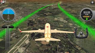 Airplane Real Flight Simulator 2019 Pro Pilot 3D - Android Gameplay FHD #2